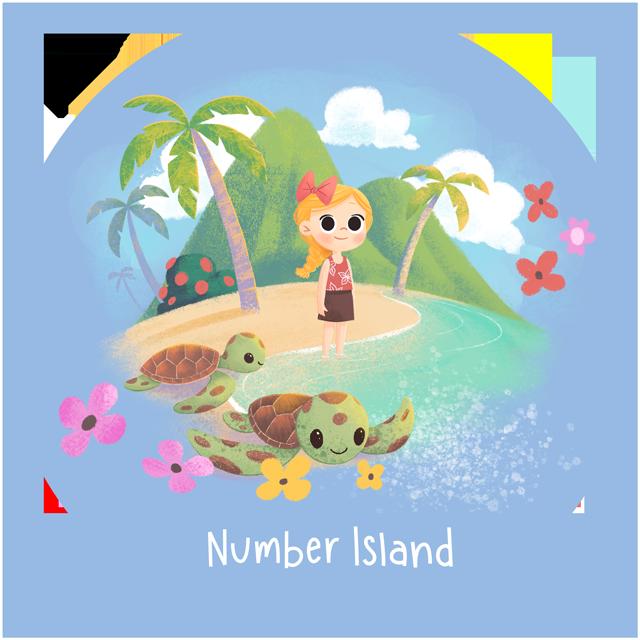 Wonder Bunch Number Island