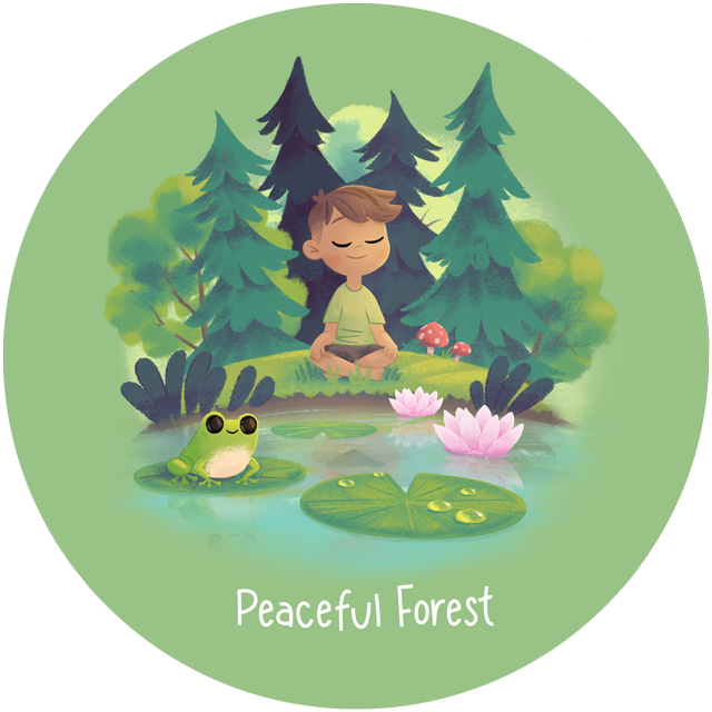 Wonder Bunch Peaceful Forest