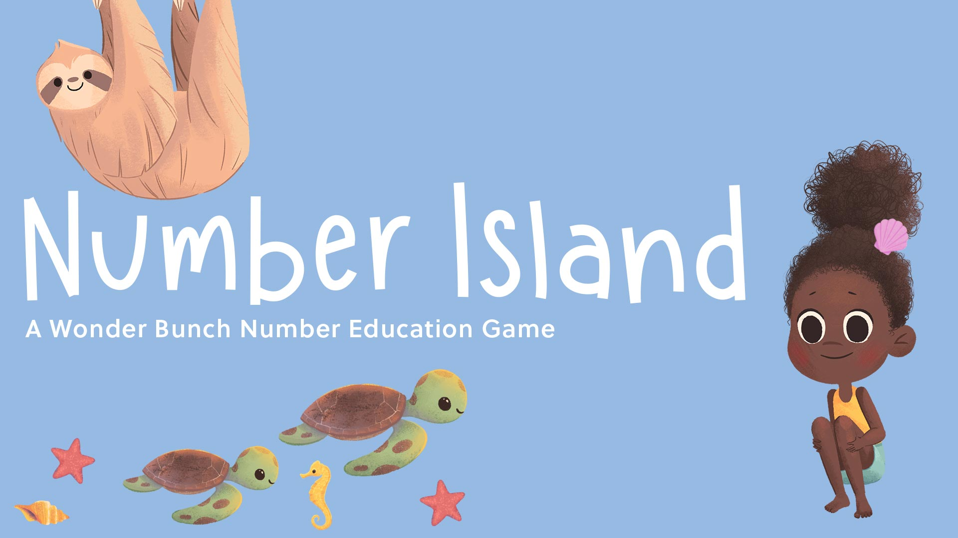 Number Island - A Wonder Bunch Number Education Game