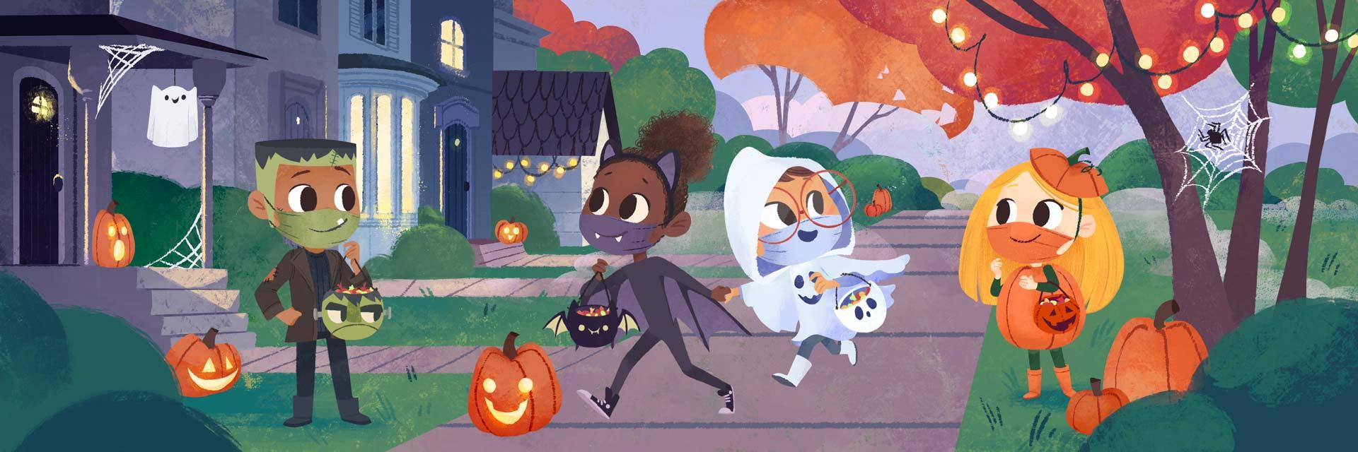 Wonder Bunch Halloween with Masks